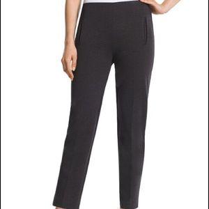 Chico's Stretch Ponte Pants Black size 1